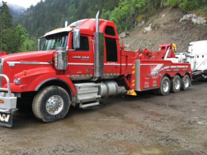 Hope towing truck for semis and large trucks